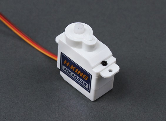 HobbyKing ™ HK-15339 Micro Analog Servo 0,8кг / 0.09sec / 7.5g
