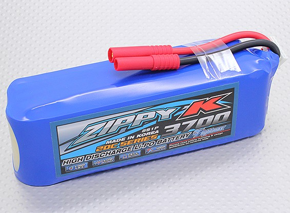 Батарея Zippy-K Flightmax 3700mah 5S1P 20C LiPoly