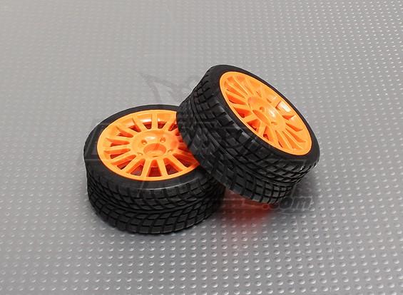 Шины Комплекты с оранжевыми Wheel - A2029-33328