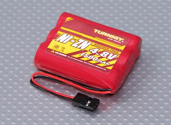 Ni-ZN 4.8V 1500mAh Плоский приемник Пакет