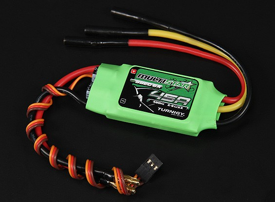Turnigy Multistar 45 Amp Multi-ротор Brushless ESC 2-6S