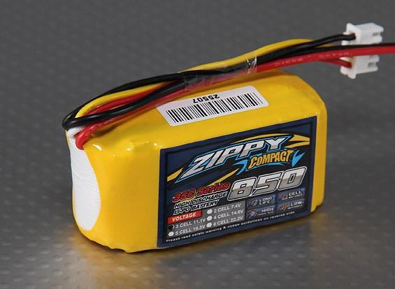 ZIPPY Компактный 850mAh 3S 35C Lipo обновления