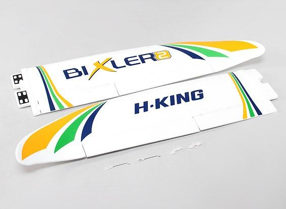 Hobbyking Бикслер 2 EPO 1500мм - Замена основного крыла