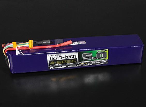 Turnigy нано-технологий A-SPEC 5000mAh 12S 65 ~ 130C Липо пакет