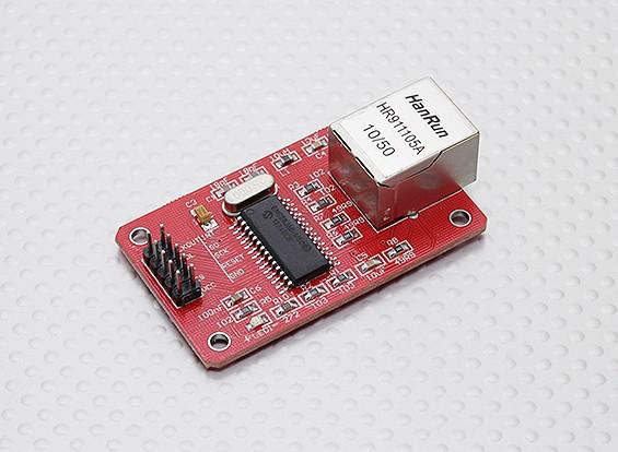 Модуль ENC28J60 Ethernet для Kingduino