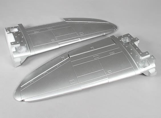 P-47 1600мм (ПНФ) - Замена основного крыла