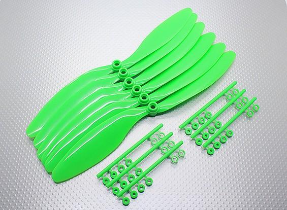 GWS EP Счетчик Вращающийся гребной винт (RD-1180 279x203mm) зеленый (6 шт / комплект)