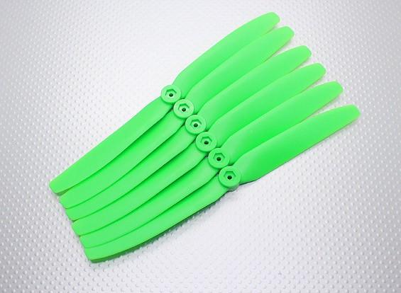 GWS EP Пропеллер (DD-8040 203x102mm) зеленый (6 шт / комплект)
