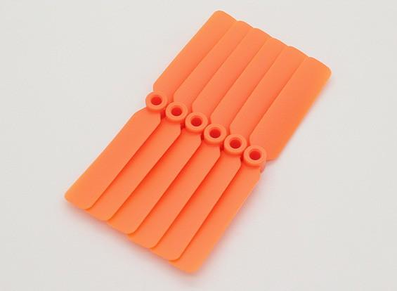 GWS EP Пропеллер (DD-4025 102x64mm) оранжевый (6 шт / комплект)