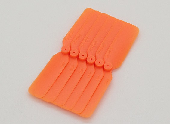 GWS EP Пропеллер (DD-2510 65x25mm) оранжевый (6 шт / комплект)