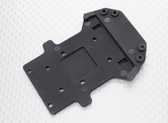 Пластина Нижняя передняя часть шасси - 1/10 Quanum Вандал 4WD Гонки Багги