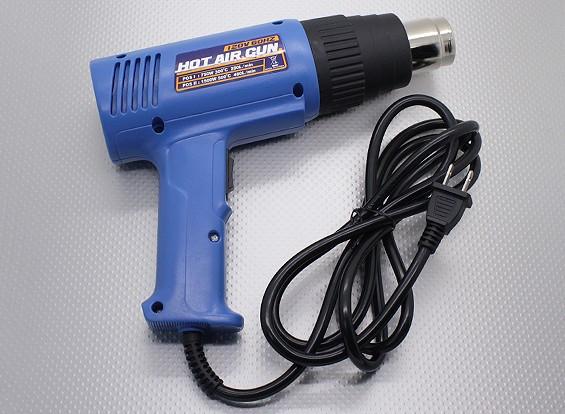 Двоевластие Пистолет горячего воздуха 750W / 1500W выход (120В / 60Гц Version)
