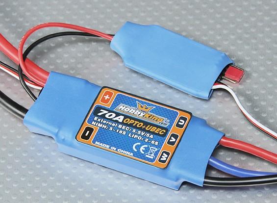 Hobbyking 70amp ОРТО ESC с 5 Amp внешним UBEC