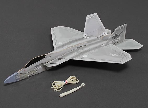 Freeflight F-22 Raptor ж / Катапульта Launcher 360mm Span