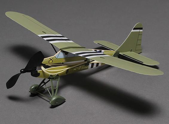 Резиновая лента Powered Freeflight Самолет L-5 467mm Span