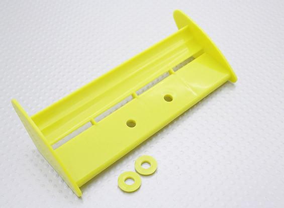 Заднее крыло ж / Spacer 1/16 Turnigy 4WD Nitro Гонки Багги (желтый)