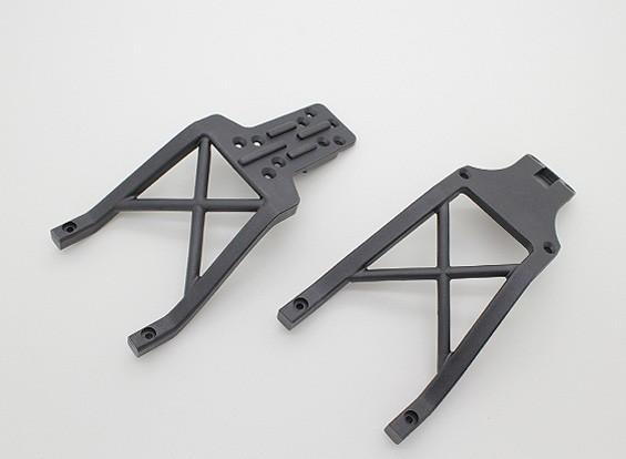 Передняя и задняя ходовая часть Поддержка Балки - A2032
