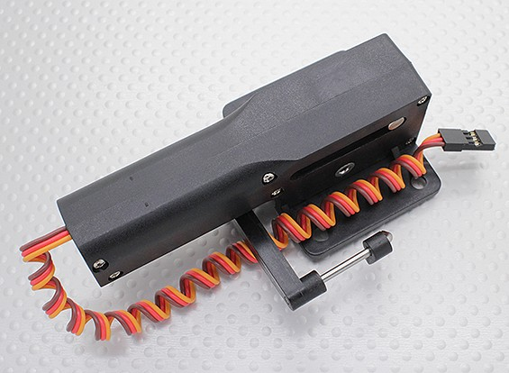 Servoless Steerable Нос Отвод с металлической Trunion для больших моделей 51мм х 43мм горы