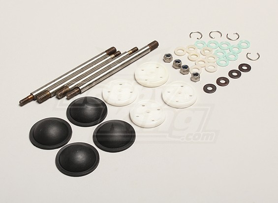 Nutech Амортизатор Rebuild Kit - Turnigy Titan 1/5