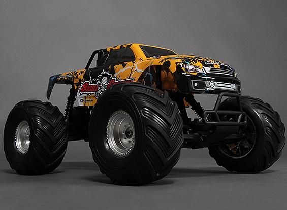 1/10 Quanum Skull Crusher 2WD Brushless Monster Truck (РТР)