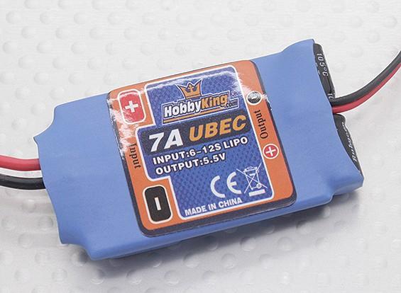 Входной Hobbyking 7A 5.5V высокого напряжения UBEC (23 ~ 45V)