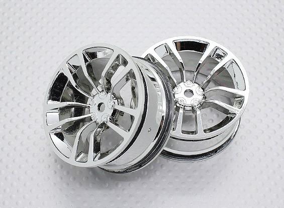 Масштаб 1:10 Touring High Quality / Дрейф Колеса RC автомобилей 12mm Hex (2pc) CR-DBSC