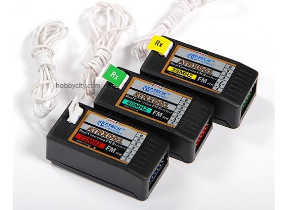 ATRXD01 40МГц с двойным преобразованием частоты FM-приемник