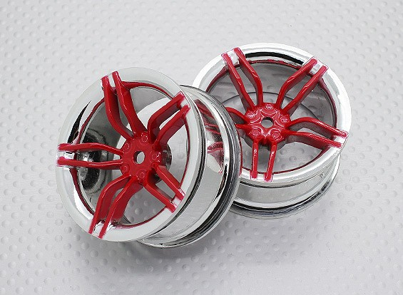 Масштаб 1:10 Touring High Quality / Дрейф Колеса RC автомобилей 12mm Hex (2pc) CR-ФРК