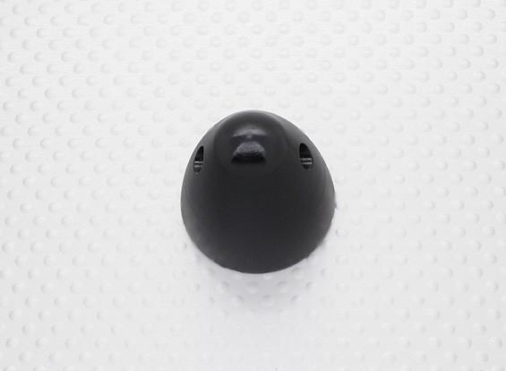 30мм алюминиевый вертушка проп гайка M8x1.0 (анодированный черная отделка)