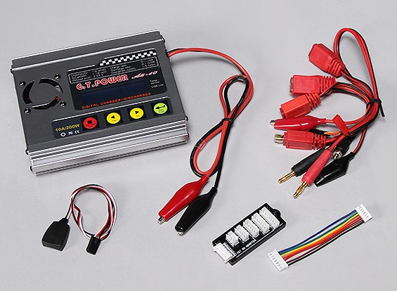Зарядное устройство GT A-6-10 200W Баланс и разрядник