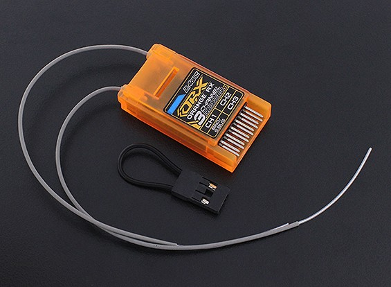 OrangeRx DSMX Совместимость DSMX 3Ch S.Bus 2.4Ghz Rx (сдвоенный длинные антенны версия)