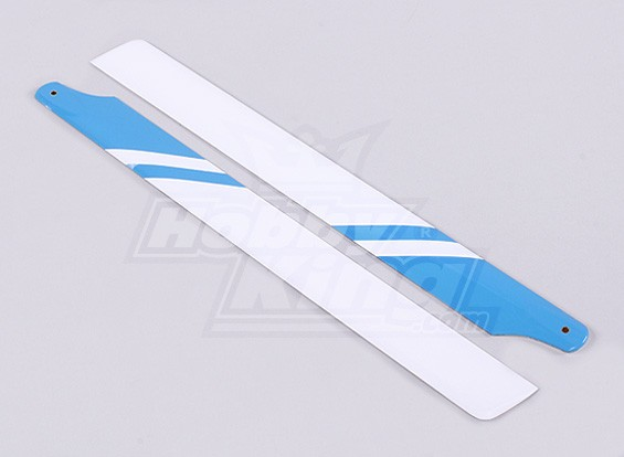 325мм стекловолокна Главная Лезвия (синий / белый)