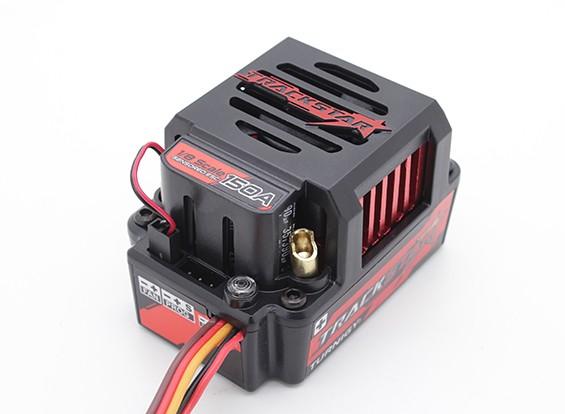 Trackstar 150A GenII 1/8-ой Шкала Sensored Бесщеточный автомобиля ESC - (ПК Programmable)