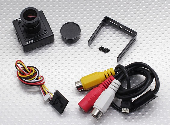 Turnigy Micro FPV камера 700TVL (NTSC) Exview 960H CCD