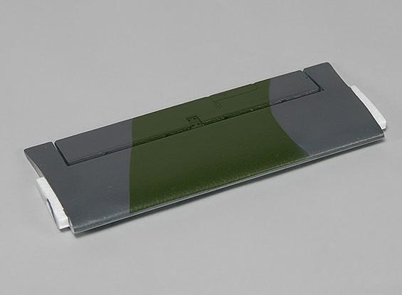 Durafly ™ Limited Edition DH Vampire - Замена Горизонтальный стабилизатор