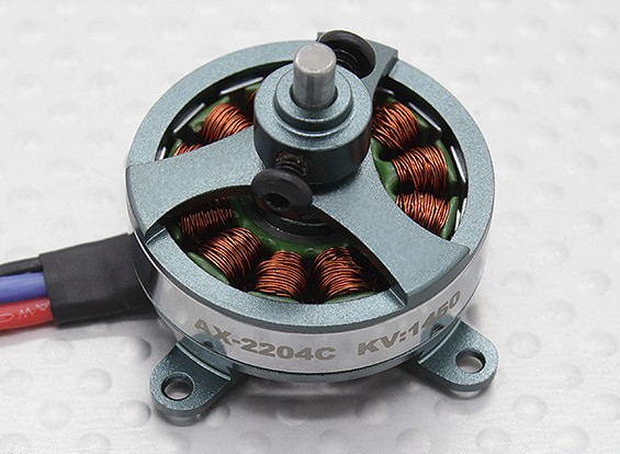 Turnigy AX-2204C 1450KV / 70W Brushless Походный Мотор