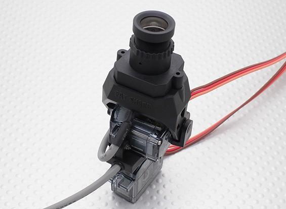 Fatshark 600TVL High Resolution FPV Tuned Pan / Tilt CMOS камера