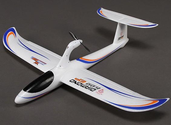 HobbyKing® ™ Алмаз 600 EP Glider Самолет EPO 600mm (RTF)