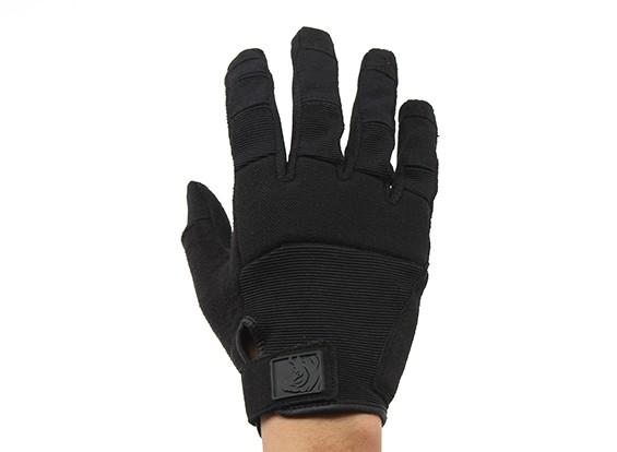 Свинья Полное Ловкость Tactical FDT Альфа сенсорный перчатки (черный, S)