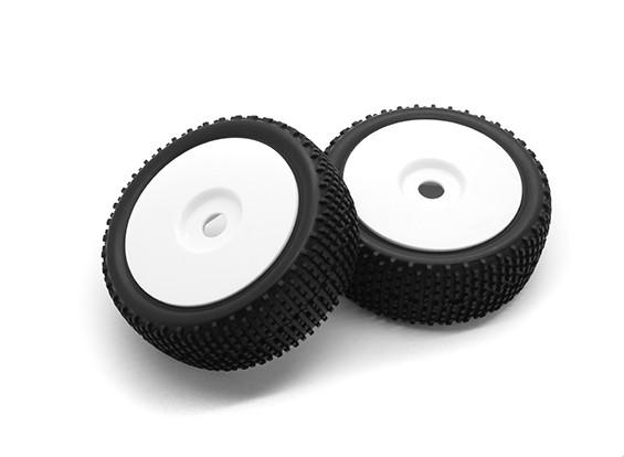 Hobbyking 1/8 Шкала K Spec Rally Dish колеса / шины 17мм Hex (белый)