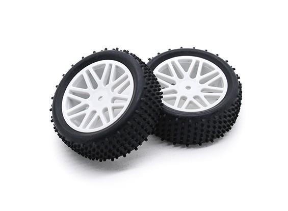 HobbyKing 1/10 аэратор Y-спицевые / 12мм шин (белый) колеса Hex (2 шт / мешок)