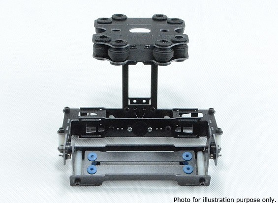 Навигатор сглаженных Servo глушитель Gimbal для FPV и Multi-Rotor