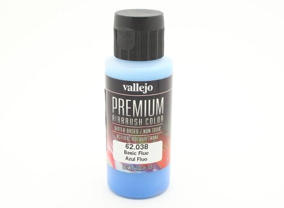 Вальехо Премиум Цвет Акриловые краски - Basic Fluo (60мл)