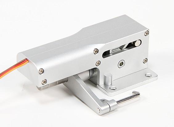 Все металлы Servoless 90 градусов Рулевое управление Нос Отвод для больших моделей (10-12kg)