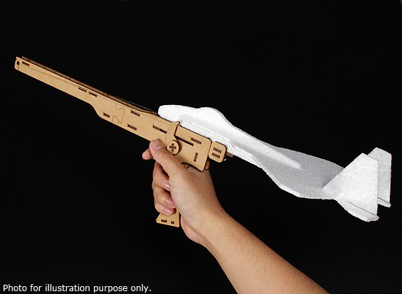 Free Flight EPP Jet Gun Катапульта Launcher