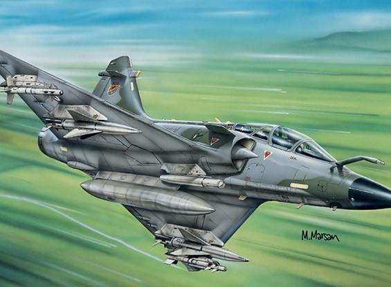 Italeri 1/72 Scale Mirage 2000 Kit D Пластиковые модели