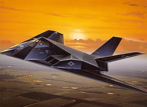 Italeri 1/72 Масштаб Lockheed F-117A Nighthawk Plastic Model Kit