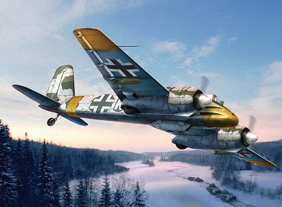 Italeri 1/72 Scale Henschel HS-129 B-2 пластиковые модели Kit