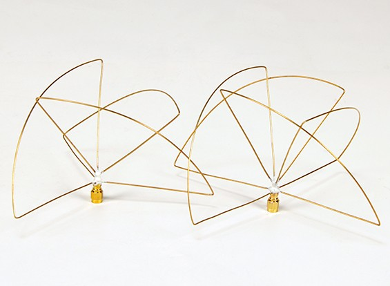900Mhz с круговой поляризацией антенны Set (RP-SMA) (LHCP) (Short)