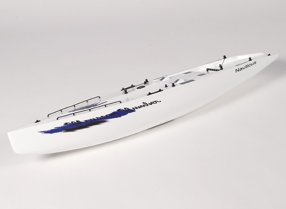 Стекловолокно RC яхты Парусник Муссон - Халл (включает два сервоприводы)